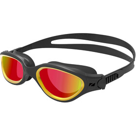 Zone3 Venator-X Goggles, black/metallic gold/polarized revo gold lens